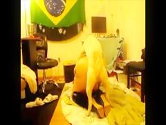 brasileña follada
