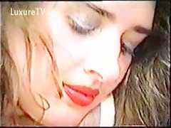 Old zoofilia vid with a busty girl